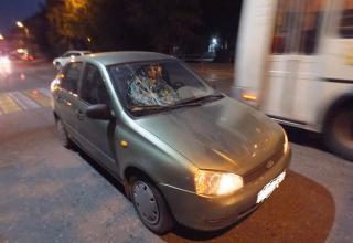 В центре Кургана сбили девочку возьми перекрестке  со неработающим светофором