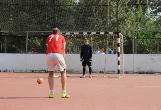 Финал XIV открытого городского турнира по дворовому футболу